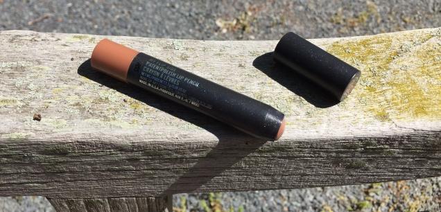 birthday gift part 1 mac select patentpolish lip pencil review
